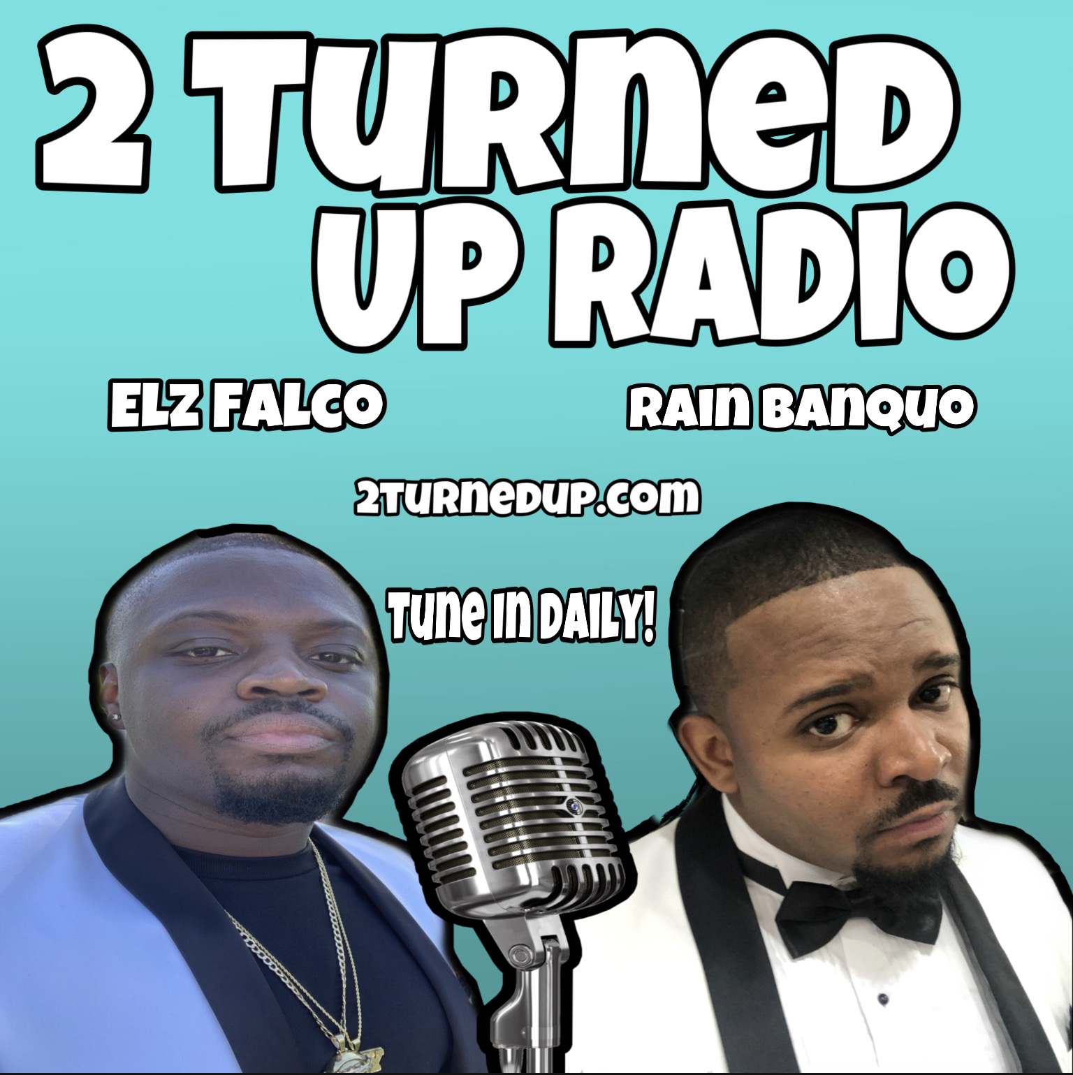 2 Turned Up logo